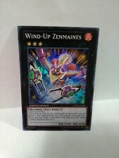 Yugioh Wind Up Zenmaines Holo Rare Limited Ed Ct09-en008
