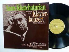 Khatchaturian Klavier Konzert LP Piano Concerto LEV OBORIN Classical cla53