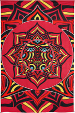 3D TAPESTRY-RED SUN FACE-100% COTTON-60X90  142