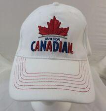 Molson Canadian beer cap hat adjustable flex fit