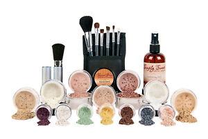 ULTIMATE KIT (WARM) Mineral Makeup Set Matte Foundation Bare Face Powder Cover
