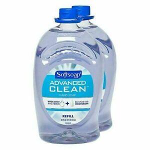 Softsoap Advanced Clean Gel Refill 80 oz 2 Pack