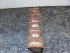 g.ozaneaux nouveau dictionnaire francais grec a l usage des classes hachette1854