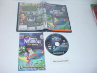JIMMY NEUTRON: BOY GENIUS game complete in case w/ Manual - PLAYSTATION 2 PS2