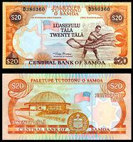 WESTERN SAMOA 20 TALA 2002 P 35 ONE SIGN UNC
