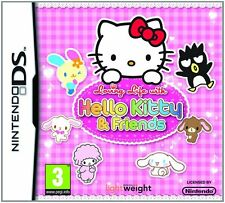 LOVING LIFE WITH HELLO KITTY & FRIENDS DS LITE DSi GAME new & sealed UK NINTENDO