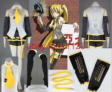 Vocaloid I Akita Neru miku Cosplay Costume Custom