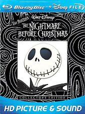 Nightmare Before Christmas BLU-RAY Henry Selick(DIR) 1993