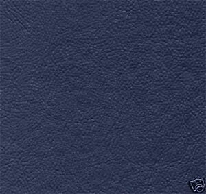 Leather Look Vinyl Futon Mattress Covers, Slipcovers Protector, Twin Navy Blue