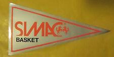 VECCHIO ADESIVO - SIMAC BASKET - ANNI 80 (CC2)