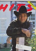 OCT 8 1990 HITS vintage music magazine - CLINT BLACK