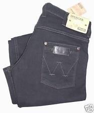 Wrangler Jeans Nero Elasticizzato Stretch equitazione W33l32