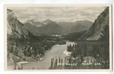 RPPC Byron Harmon #236 Bow Valley Banff Canada 1920 Photograph
