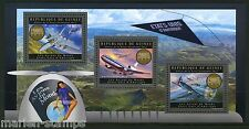 GUINEA 2012 UNITED STATES PLANES OF THE WORLD  SHEET  MINT NH