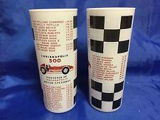 "Indy 500 1961 Original Vintage Souvenir WINNERS Collector 7"" Glass AJ FOYT"