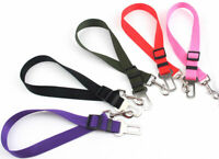 Adjustable Pet Dog Puppy Cat Safety Lead Leash Car Seat Belt Harness Hot