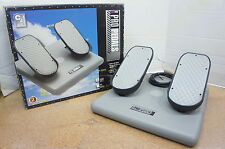 🍀 ‡ NEW DEMO! ‡ CH Products Flight Sim Simulator Pro Pedals USB PPU995 300-111