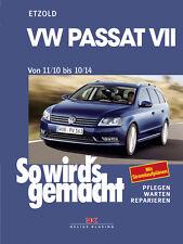 VW PASSAT B7 Reparatur-Anleitung Reparatur-Buch So wirds gemacht Handbuch NEU