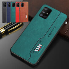 Matte Soft Leather Shockproof Phone Case Cover For Samsung A51 A71 A21S A50 M31S
