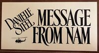 Original 1993 Danielle Steel Message From Nam Television Movie Production Sign