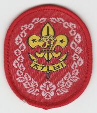 Vintage Korea Scout Rank Patch MOOGUNGWA CLASS 2015 world scout jamboree Japan
