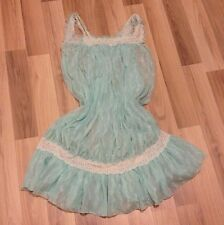 Sexi Lingerie Vintage Antique Baby Doll Sexy  Ethereal Nightdress  1960s