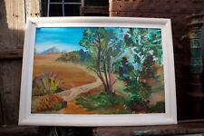 RARE Nehemiah Persoff Original Acrylic/Oil Painting Signed & Framed