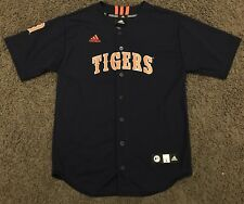 ADIDAS DETROIT TIGERS BLUE TEAM MLB BASEBALL JERSEY YOUTH MEDIUM