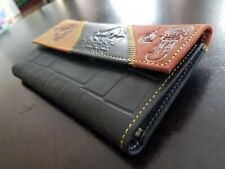Machu Picchu Peru Wallet, handcrafted clutch organizer