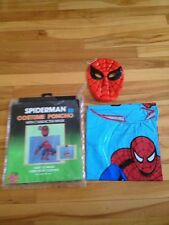 Spiderman Costume Poncho 1989 Ben Cooper