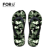 Fashion Mens Boys Slippers Flat Beach Casual Flip Flops Shoes Summer Slippers