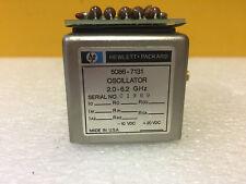 HP / Agilent 5086-7278 2 to 8.4 GHz, SMA (F) YIG Tuned Oscillator + 5061-1026