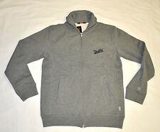 Men's UNDEFEATED Fleece Zip Jacket Grey Heather size L (T96) $114