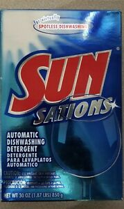 SunSations Automatic Dishwasher Detergent  Scent 3Oz Vintage Rare
