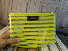 Victorias Secret handbag bag tote mini makeup plastic beach clear cosmetic case