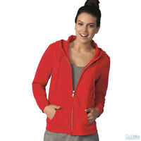 Gildan Heavy Blend Women's Full-Zip Hooded Missy Zip Up Sweatshirt - 18600FL
