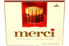Merci Finest Assortment of European Chocolates 8.8oz Box 20 Pieces