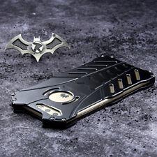 Anti-drop Shockproof R-JUST Metal Batman IronMan Skin Bumper Hard  Case Cover