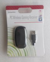 White PC Wireless Controller Gaming USB Receiver Adapter for Microsoft XBOX 360