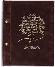 A5 Stammbuch der Familie -Tree-, braun, Familienstammbuch, Stammbücher, DIN A5