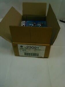 GE 23091 Decorative Globe Bulb 60W G16.5 Clear Candelabra Base 2 Pack-LOT OF 6