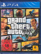 GRAND THEFT AUTO V GTA 5-ps4-PLAYSTATION 4-NUOVO & OVP-versione tedesca!