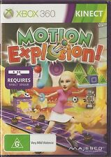 Motion Explosion! XBOX 360, 12 Games in 1 Disc, New (sealed), Kinect required