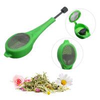Silicone Tea Infuser Mesh Filter Strainer Loose Tea Leaf Spice Home