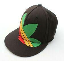 Adidas Vintage Mens Rasta Jamaican Colourway Black Cap Hat - Size M