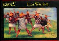 Caesar Miniatures 1/72 INCA WARRIORS Figure Set