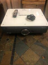Panasonic PT-D5700,D5700U DLP XGA HD Projector 6000 LUMENS,, LOW HOURS!!!