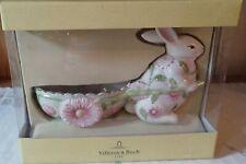 Villeroy & Boch Easter Fantasy Ceramic Planter Bunny Rabbit Primrose