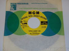 STONEMANS Tupelo County Jail / Spell Of The Freight Train RARE BLUEGRASS 45 MGM