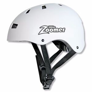 ADJUSTABLE KIDS TODDLER SAFETY HELMET FOR BALANCE BIKES AND SCOOTERS - WHITE